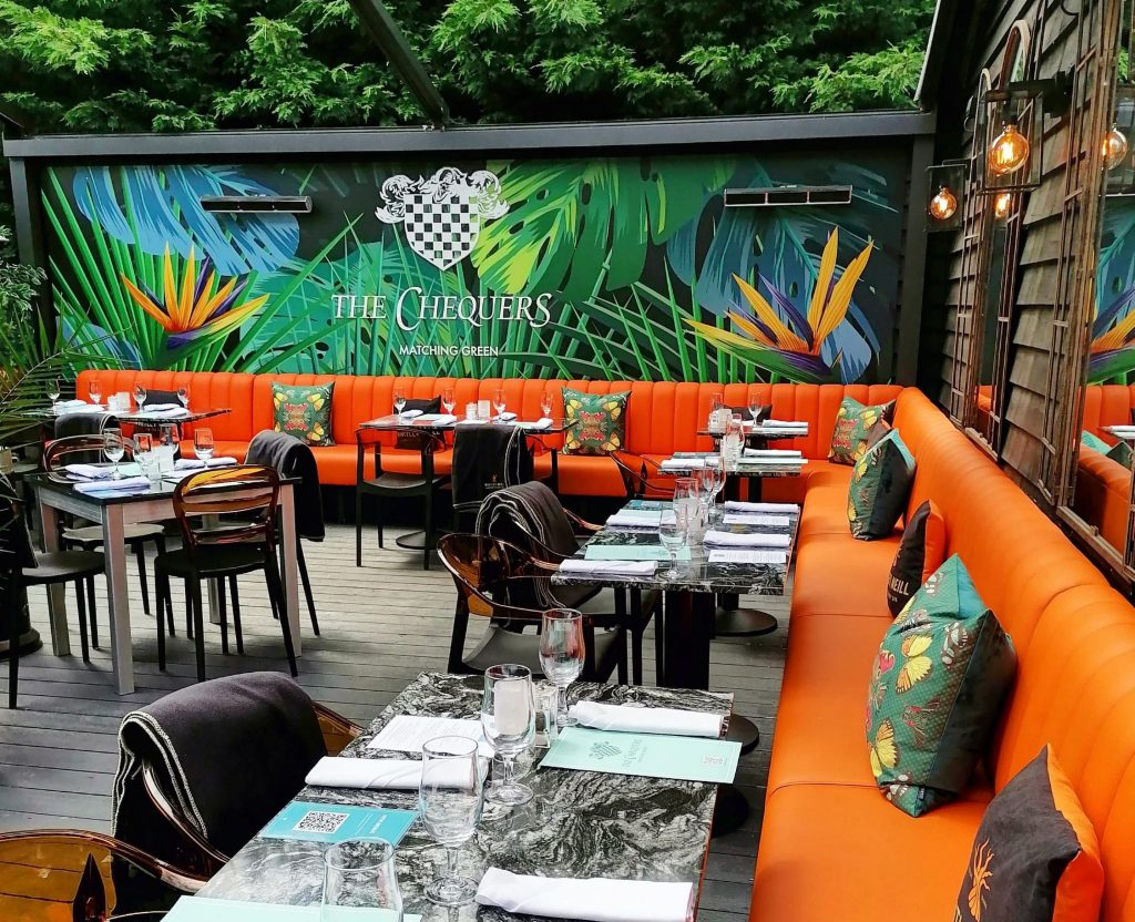 The Chequers Matching Green, Restaurant, Bar and Terrace